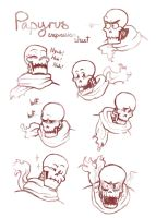 Papyrus Expression Sheet by demi-lune4