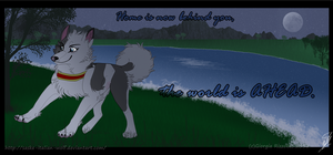 AT: -The world is AHEAD- by Saske-Italian-Wolf
