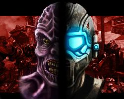 Gears of War 3 contest entry by DJHolland