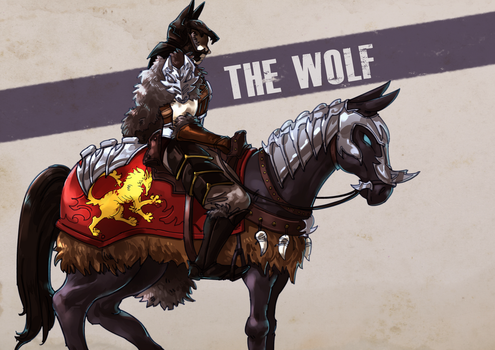 The Wolf by taipoh
