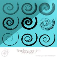 spiral brushes by 00cheily00