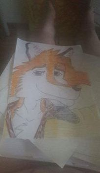 Andy the fox by Swedishsketcher94