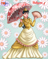 Yellow Victorian by Mallagueta-Pepper