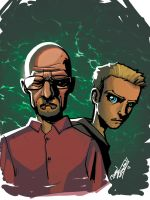 Breaking Bad Colored by DrummerboyDomo