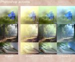Photoshop actions by aoao2