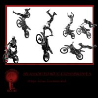 Twisted Mind Moto Cross Brushes Vol 2 by Textures-and-More