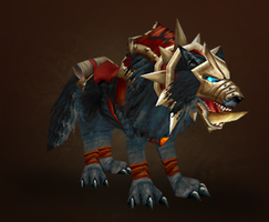 My WoW pets: ForTheHorde by Foxstar92