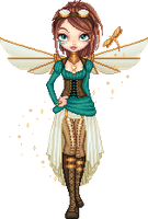 Steampunk Fairy by Disorder-Chaos