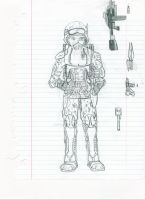 Concept Soldier by Turd-Burger