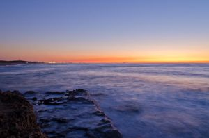 Palmachim Beach, sunset by JBord