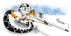 ...OC Snow Cleo Love Her White AWP... by Joakaha