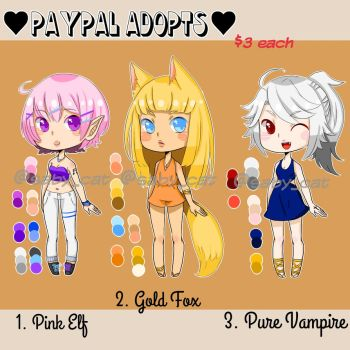 {OPEN} PayPal Adopts by Saby-Cat