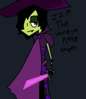 Zim The Vampire Piggy Slayer by Cutediepie