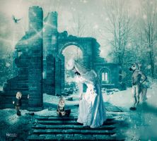 The ice queen by Marilis5604