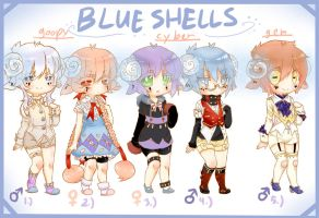 [OS] Blue Shells [1/5 OPEN] 150 points each by misvadopts