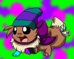 AT . : Spirit the Eevee :. by ProxyMew