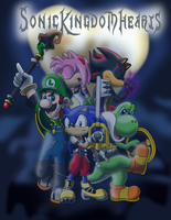 Sonic Kingdom Hearts by sonicgirl313