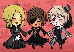 :APH:Bad:Imitation:Trio: by KaiSuki