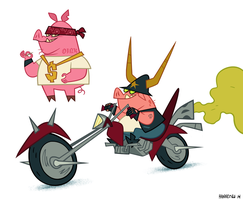 Hogs4life by mhannecke