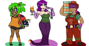 Sonic Zone Personifications I by reaverbots
