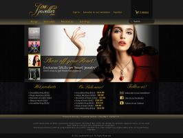JoeJeweller.com frontpage by naranch