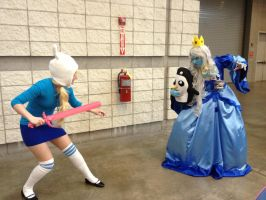 Fionna Attack! by oftheTriforce