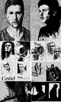 Book : Supernatural / Rammstein / nature drawings by Aquila--Audax
