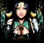 The Goddess by greyhole
