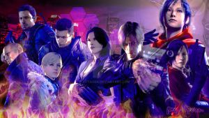 Resident Evil 6 desktop by Attaora