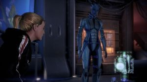 Liara and Shepard : Prepare for the worst by prime456