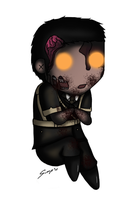 Chibi Nazi Zombie by Sora-in-my-pants