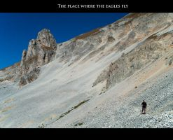 The place where the Eagles fly by Gautama-Siddharta