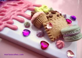 Yummy Sweet Case for Iphone 4 by PinkCakes