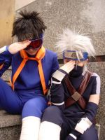 Obito and Kakashi: facepalm by ToraCosplayers