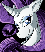 :: My Little Pony: Rarity :: by Tigerman-exe