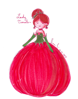 Lady Tomato by LiloLilosa