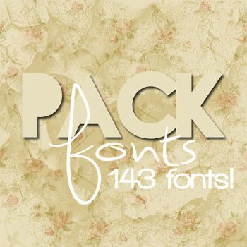 +FontPack by canloveumorethanthis