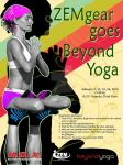 Zem Gear Beyond Yoga Poster by artistiko07