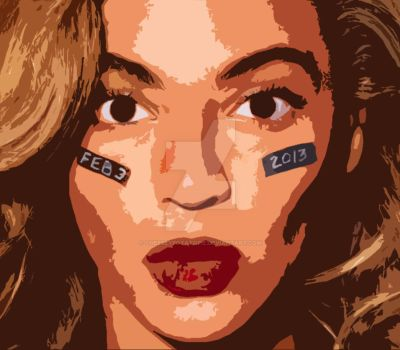 Beyonce by CheeseyPotatoPie