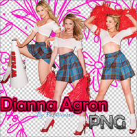 Dianna Agron PNG by fazhiionztar