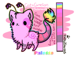 Palette(Mascot) Reference by PrePAWSterous