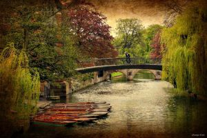 Bridge Over River Cam by George---Kirk