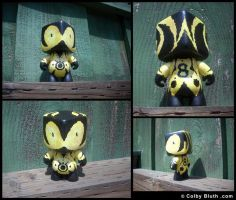 Autism and Art Custom Toy by ColbyBluth