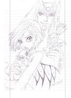 Wiil and Phobos by BabyMessina89