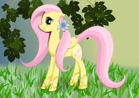 Fluttershy by iOVERD