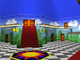 Peach's Castle On Maya 3 by animaniatic