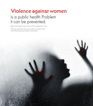 Violence against women by solo-designer