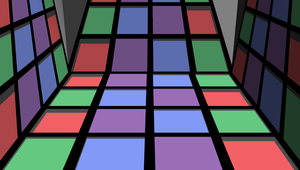 Move Squares in floor stage by mbarnesMMD