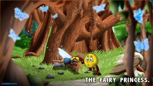 Pacman Fanfic - Fairy Princess. by Atariboy2600