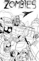 Transformers Zombies by TheBoo
